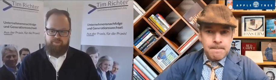 Gespräch mit Direktor Feigenwinter