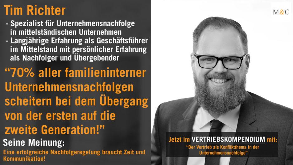 Tim Richter Unternehmensberatung - Das Vertriebskompendium